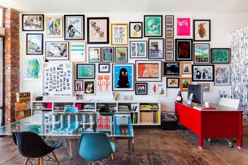 Как правильно повесить картину на стену — 10 рекомендаций (40 фото)