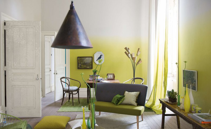 Стены под покраску в интерьере 68 фото дизайн окрашенных стен в спальне примеры дизайнерских решений в квартире и деревянном доме