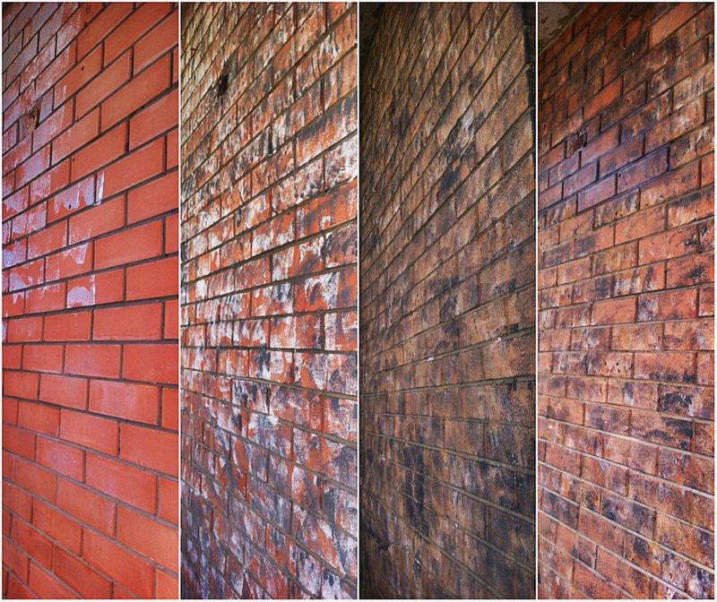 Как покрасить старую кирпичную стену своими руками 88